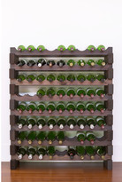8 Layers of 9 Bottles Wine Rack Finish: Stained