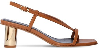 Souliers Martinez 55mm Leather Thong Sandals