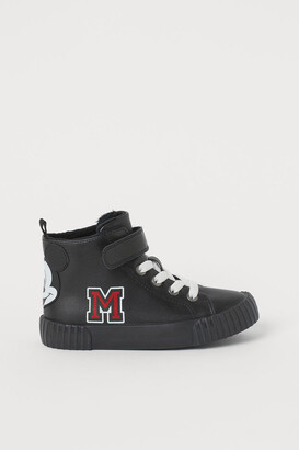H&M Lined hi-top trainers