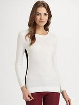 MICHAEL Michael Kors Colorblock Crewneck Sweater