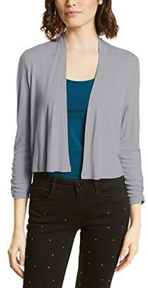 Street One Women's 311627 Cardigan, (Lunar Grey 10821)