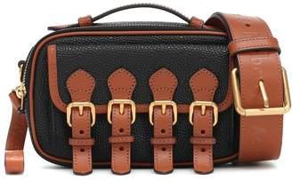 Acne Studios x Mulberry Mini leather crossbody bag