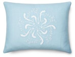 "Lauren Ralph Lauren Julianne Embroidery Throw Pillow, 16"" X 12"" Bedding"