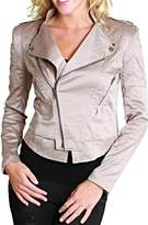 BRANDED Crop Moto Jacket