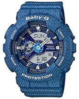 Casio Women's Baby-G BA110DC-2A2 Plastic Quartz Watch