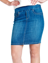 Denim Skirts Size 16 - ShopStyle
