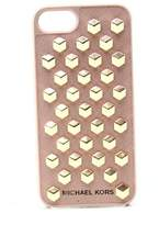 Michael Kors Pink Fawn 3-D Studded Iphone 7 Snap On Hard Case