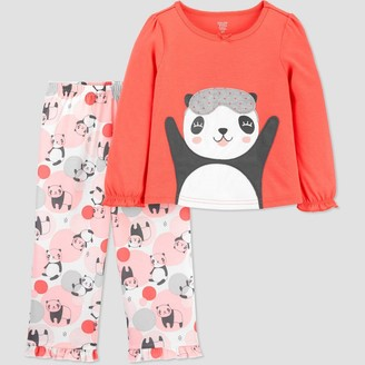 Just One You Made By Carter's Toddler Girls' 2pc Panda Pajama Set - Just One You® made by carter's