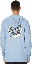 Santa Cruz Convert Mens Pop Hood Blue