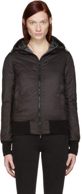Canada Goose Black Down Dore Jacket