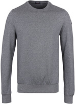 Paul & Shark Grey Marl Crew Neck Sweatshirt