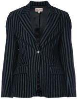 Miaou striped velvet blazer