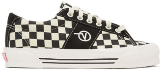 Vans Black and White Check OG Sid LX Sneakers