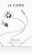 Le Cord Terrazzo - iPhone Cable Made With Recycled Braiding