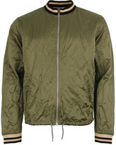 Vivienne Westwood Anglomania Bomber Shirt Green 6528 2503 J35 04941
