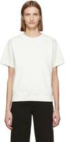 MM6 MAISON MARGIELA Off-White Short Sleeve Sweatshirt