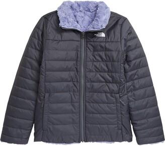 The North Face Kids' Mossbud Swirl Reversible Water Repellent Heatseeker(TM) Jacket