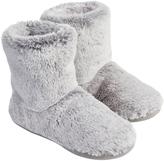 Accessorize Furry Slipper Boots