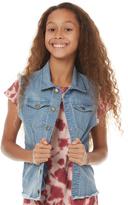 Munster Youth Maiden Denim Jacket Blue