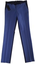 Pt01 Blue Cotton Jeans for Women