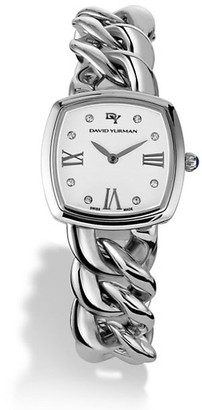 David Yurman Albion 27MM Stainless Steel Quartz Watch with Diamonds