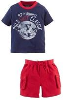Ralph Lauren T-Shirt & Cargo Shorts (Baby Boys)