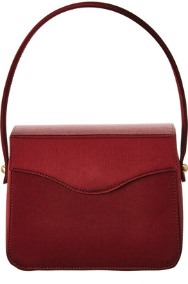 Edie Parker Hot Box Satin Bag