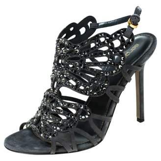 Sergio Rossi \N Grey Suede Sandals