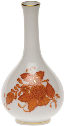 Herend Chinese Boutique Rust Small Bud Vase