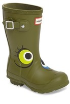 Hunter Toddler Boy's Alien Waterproof Rain Boot