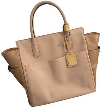 Reed Krakoff Khaki Patent leather Handbags