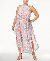 Love Squared Trendy Plus Size Chiffon Maxi Dress
