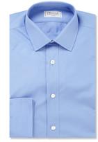 Charvet Blue Cotton Shirt