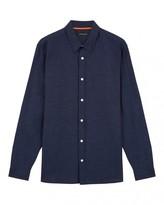 Jaeger Cotton Linen Regular Shirt