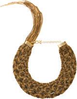 Rosantica Forza Gold-Tone Brass Necklace