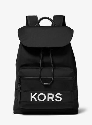 Michael Kors KORS Nylon and Leather Backpack
