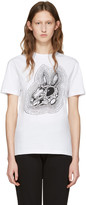McQ by Alexander McQueen White Be Here Now T-Shirt