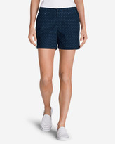Eddie Bauer Women's Willit Poplin Shorts - Print