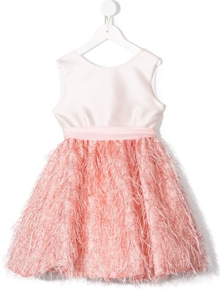 La Stupenderia Fringe Detail Dress