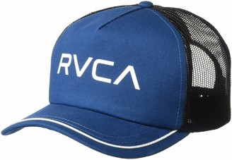 RVCA Women's Title Trucker Hat Poseidon Blue One Size