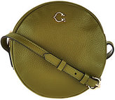 C. Wonder As Is Round Canteen Leather Crossbody Handbag