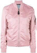 Alpha Industries arm pocket bomber jacket - women - Nylon - S