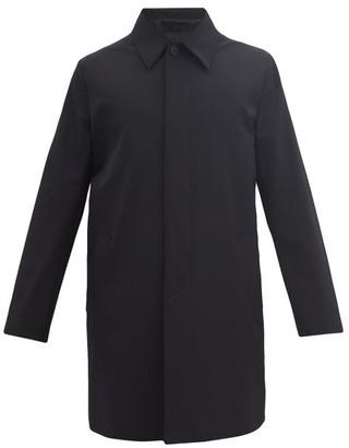 Prada Techno Fabric Car Coat - Black