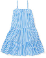 Polo Ralph Lauren Striped Cotton Tiered Dress (2-7 Years)