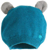 bonniemob Knit Baby Hat w/ Ears, Teal