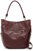Liebeskind Berlin Jay Leather Woven Hobo Bag