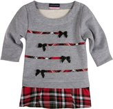Andy & Evan Christmas Plaid Tunic (Baby) - Red-6-12 Months