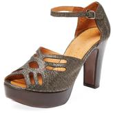Chie Mihara Unida Stingray Platform Sandal