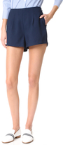 Cupcakes And Cashmere Evelyn Pleated Suiting Shorts