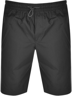 Versace Logo Shorts Black
